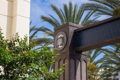 CSUF Campus Sign