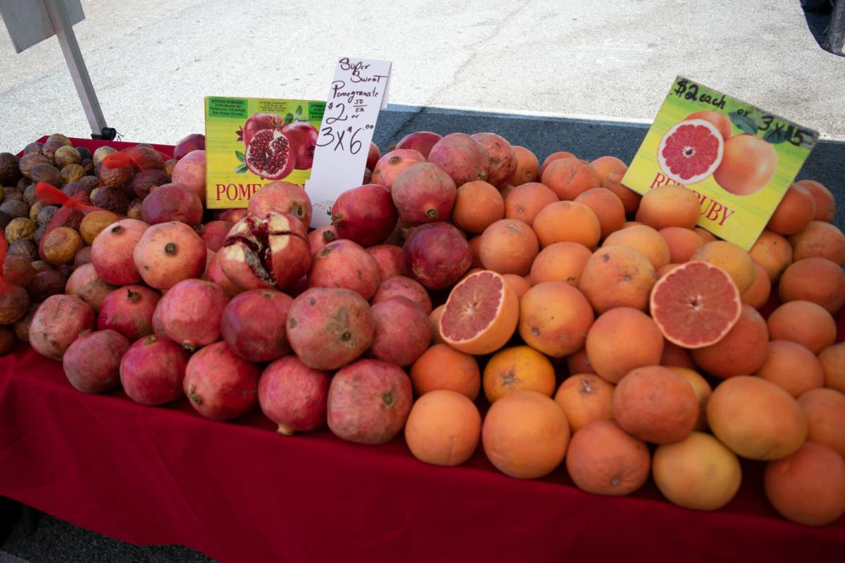 Pomegranates and Grapefruits