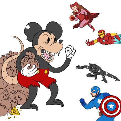Disney Illustration (Marvel lawsuit)