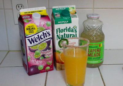 Tuffy's table drink