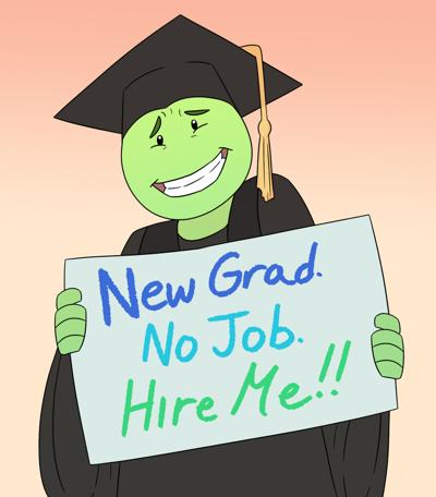 Entry level job illustration