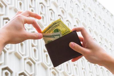 Money Wallet Photo Illustration
