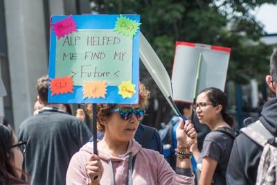 ALP protest