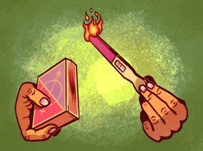 Gender Reveal Fire