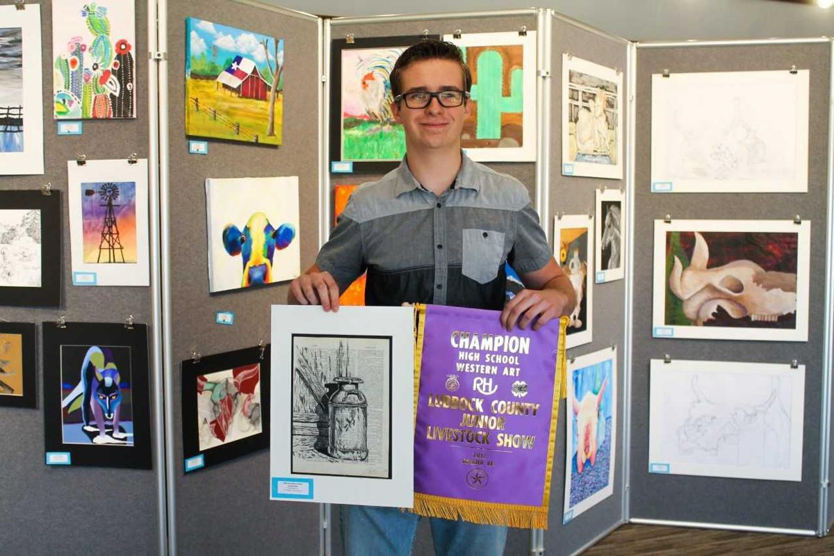 Caulen Dolle- Western Art Contest Awards