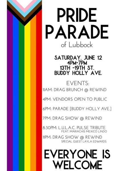 2021 Pride Flyer