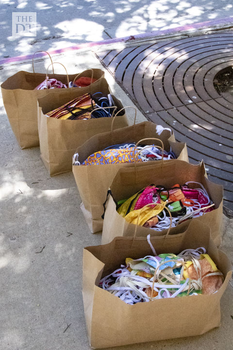 Junior League of Lubbock mask donation