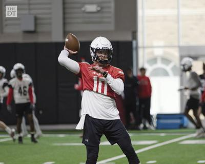 Texas Tech Football Practice