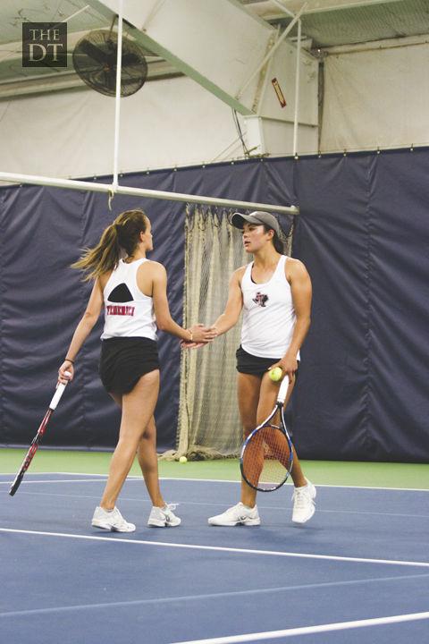 Women's Tennis vs Kansas
