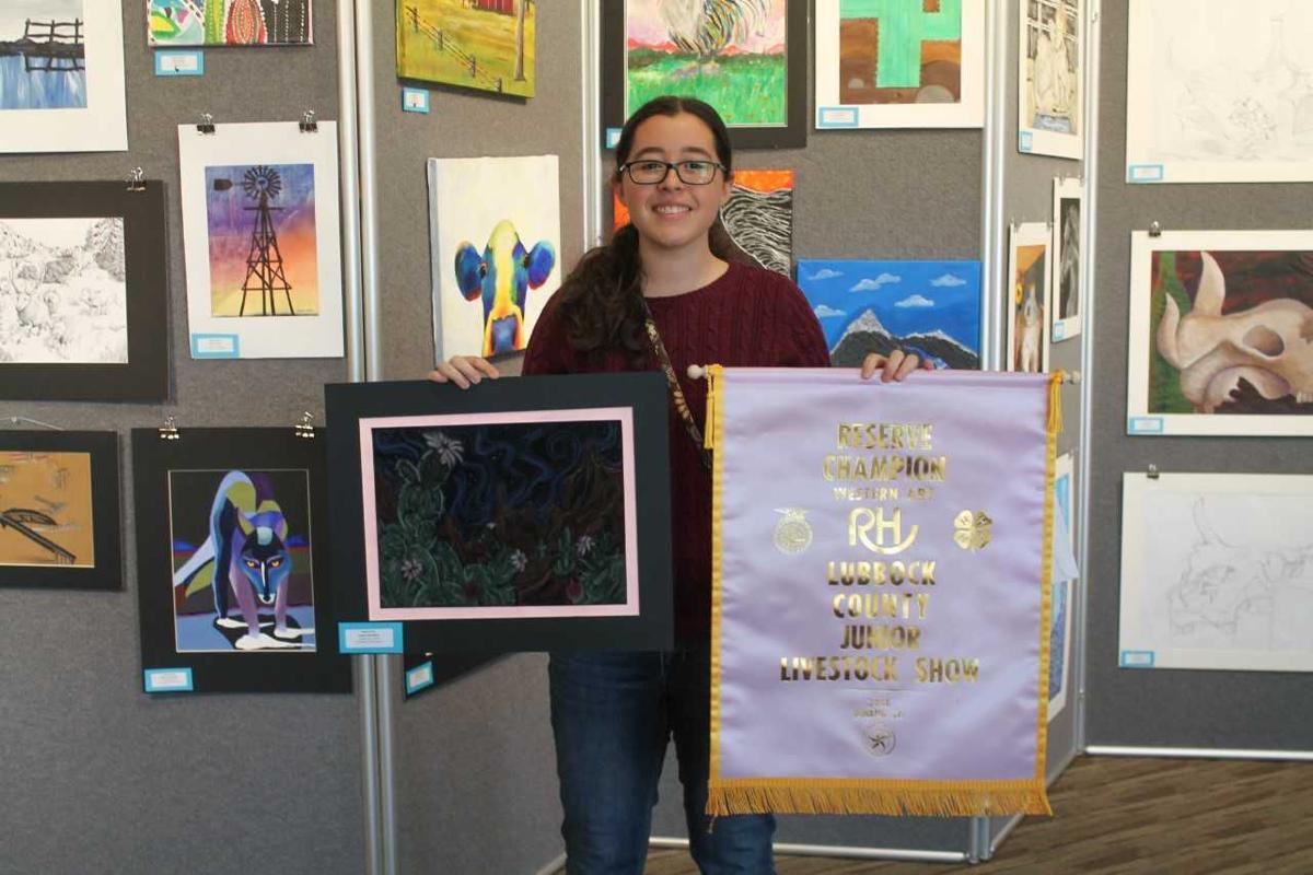 Celeste DeVilliers- Western Art contest Awards