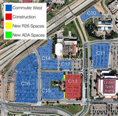 Parking impacted by campus construction | News ...