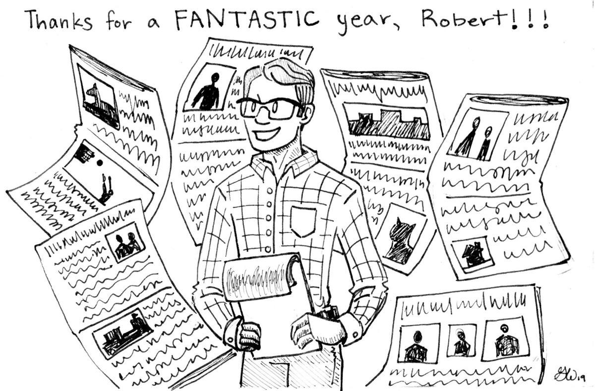 CARTOON: Thank you for a fantastic year, Robert