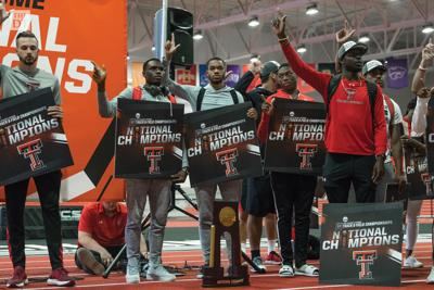 Texas Tech Track & Field National Championship Welcome Back
