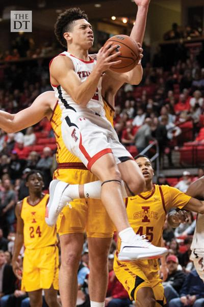 Texas Tech men's basktball defeats Iowa State 72-52