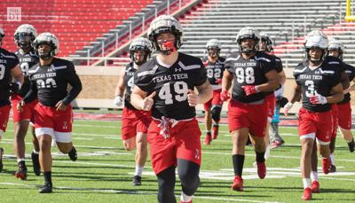 Texas Tech Football Spring Practice