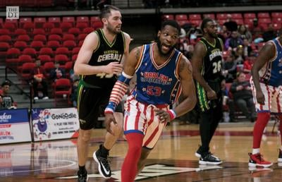 "The Harlem Globetrotters performed at United Supermarkets Arena on Monday, Feb 24, 2020 at 7:00 p.m on their ""Pushing the Limits"" World Tour."