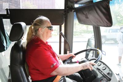 Bus drivers discuss campus experiences