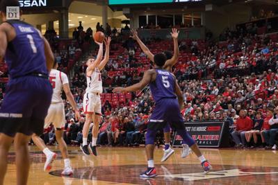 Texas Tech Men's Basketball defeats Texas Christian University, 88-42.
