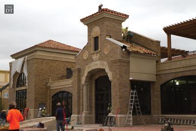 Frazier Alumni Pavilion: Construction