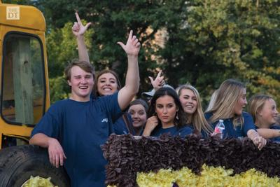 Tech hosts annual parade for this year's Tech Gets Animated! Homecoming