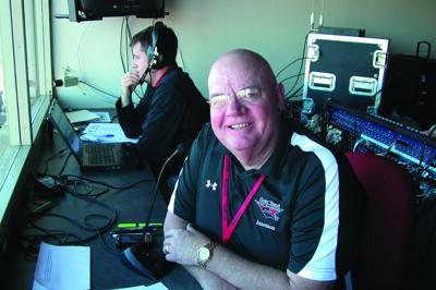 King serves as voice of Goin' Band for decade