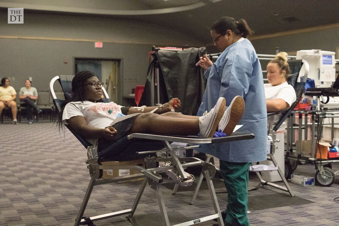 Battle of the Halls Blood Drive
