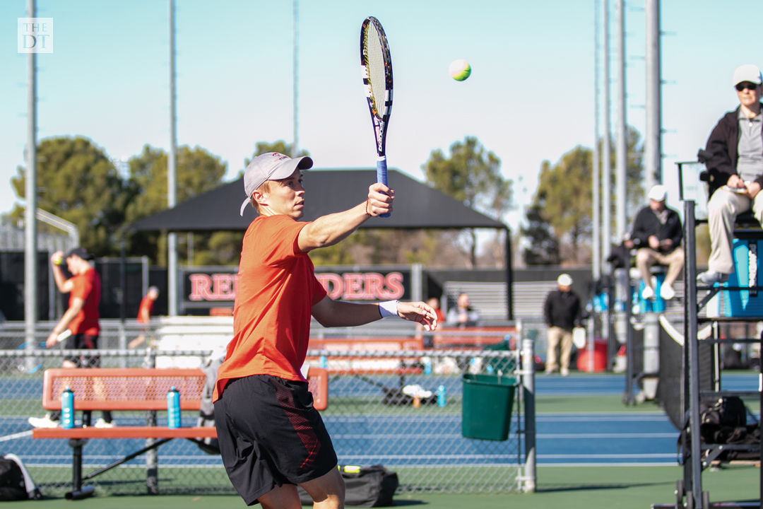 Texas Tech tennis defeats New Mexico State in doubles