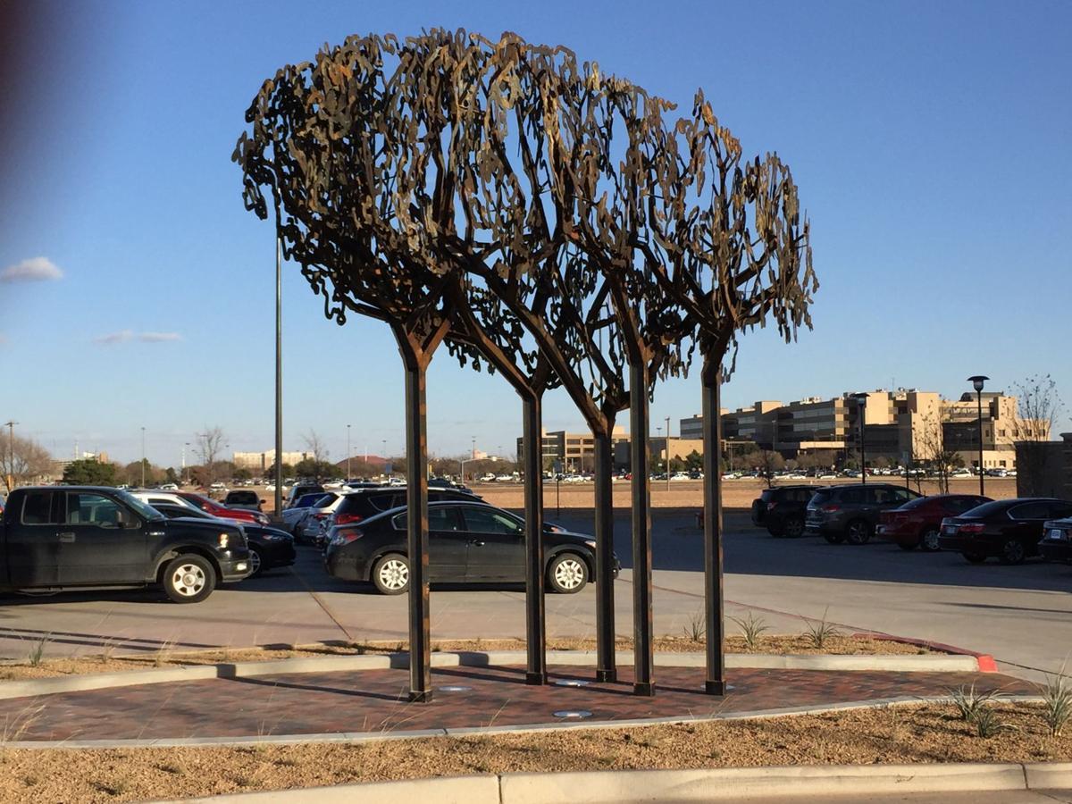 Texas Tech dedicates new piece of public art