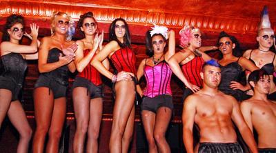 Fashion show rocks club with revolution