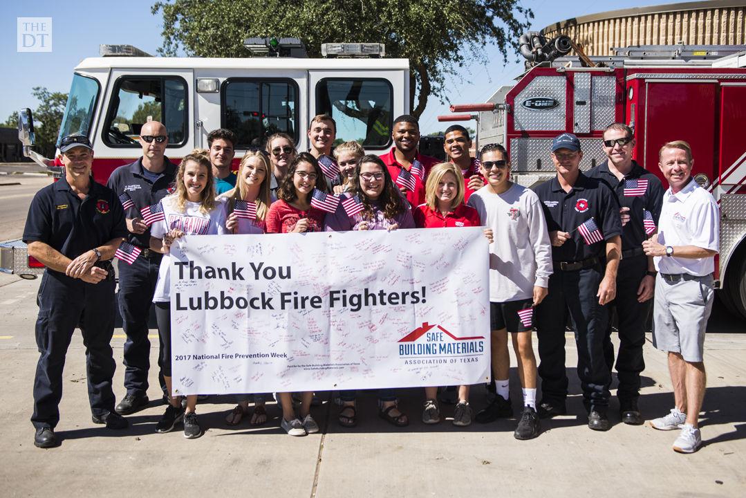 SGA shows gratitude, thanks Lubbock Fire Department