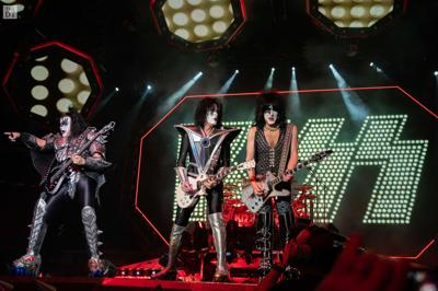 KISS performs at The United Supermarkets Arena