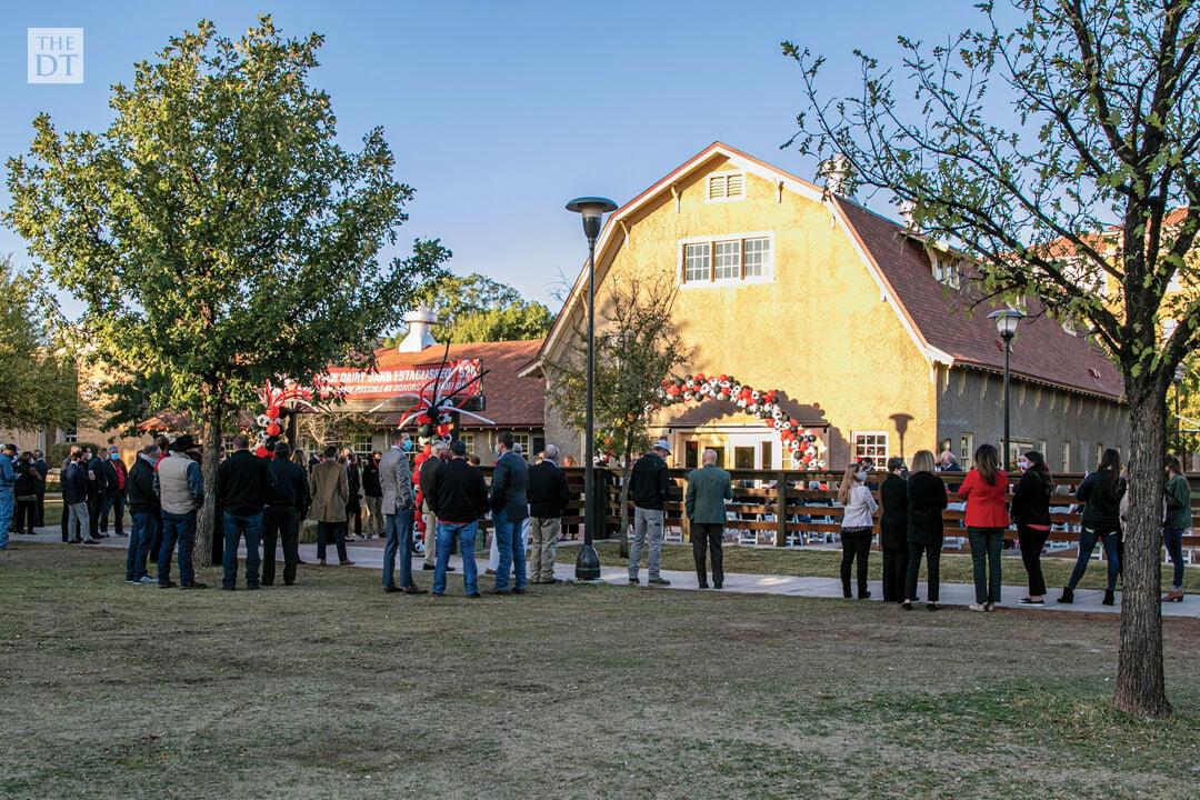 Dairy Barn Ribbon Cutting Ceremony
