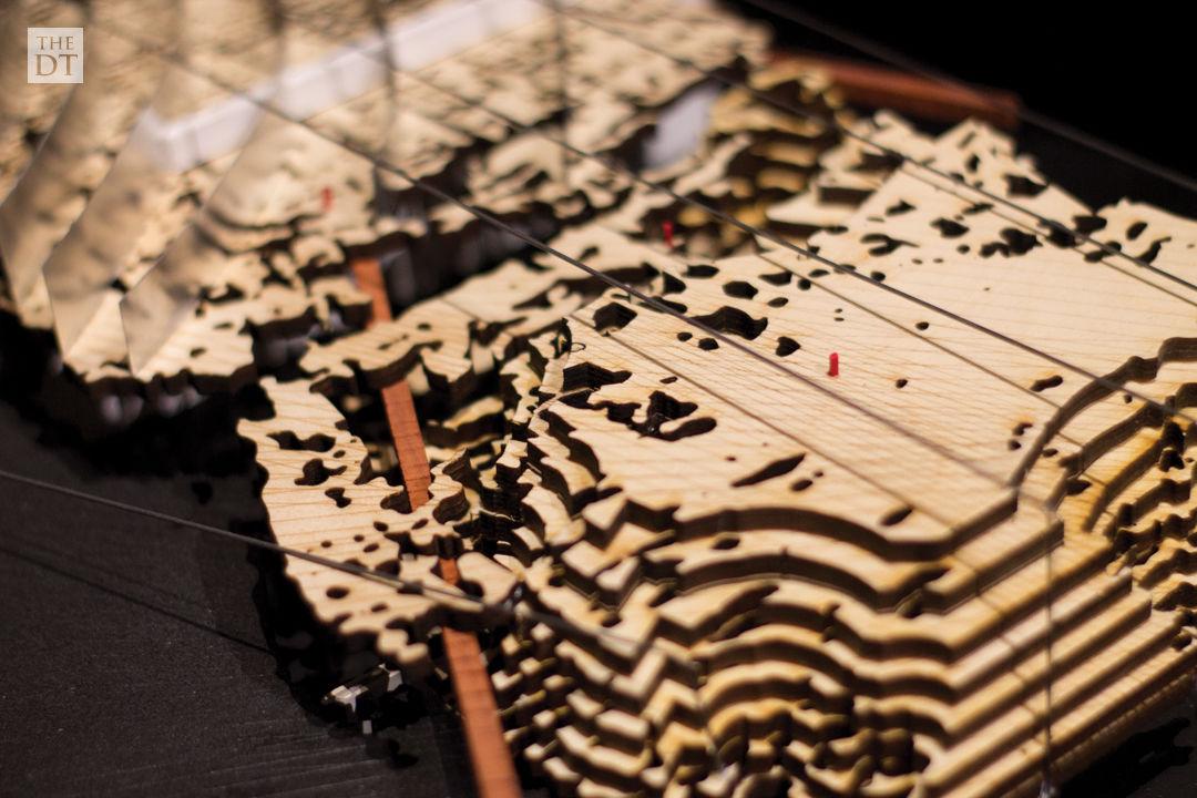 Land Arts Exhibit at the Museum of Texas Tech University