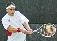 Tech men's tennis hopes week off steers it in right direction