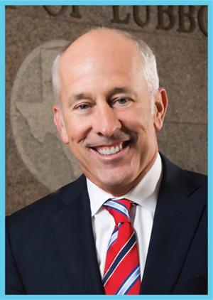 Dan Pope, Lubbock mayor
