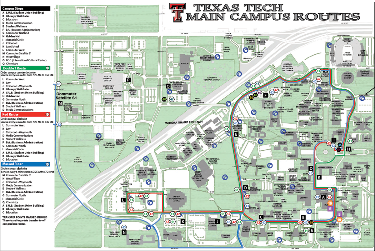 Campus parking, travel impacts first school week
