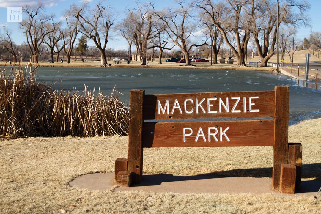 Lubbock Residents head to Mackenzie Park on a Sunday afternoon