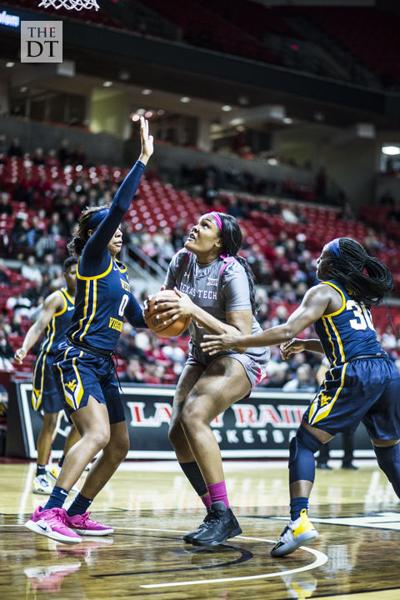 Lady Raiders VS. West Virginia