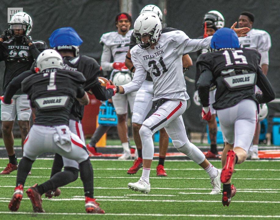 Spring Football Practice on March 24, 2021