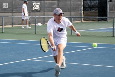 Texas Tech men's tennis played the University of New Mexico on Sunday March 1, 2020, at the McLeod Tennis Center. The Red Raiders defeated the Lobo's in doubles 1-0 and in singles 4-1.