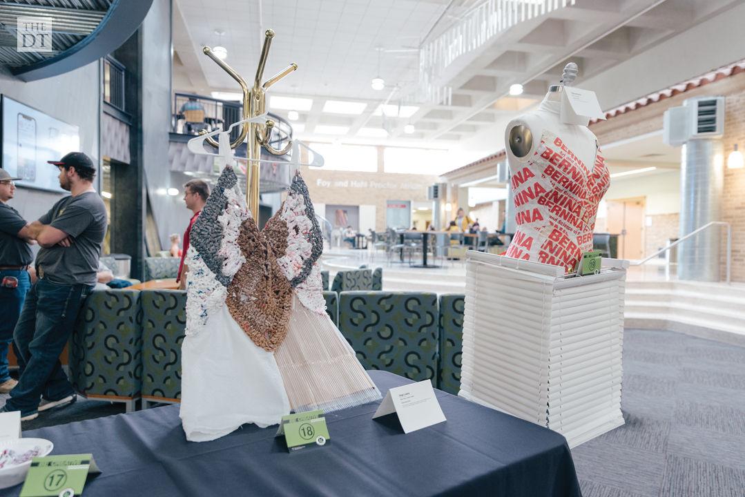 Go Green Texas Tech art exhibit