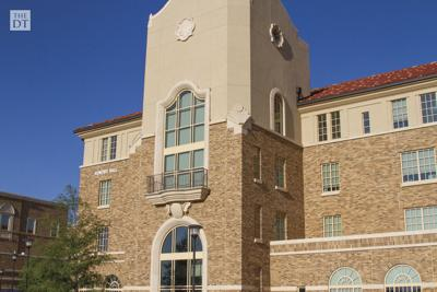 Front side of Honors Hall located at 901 Flint Ave.
