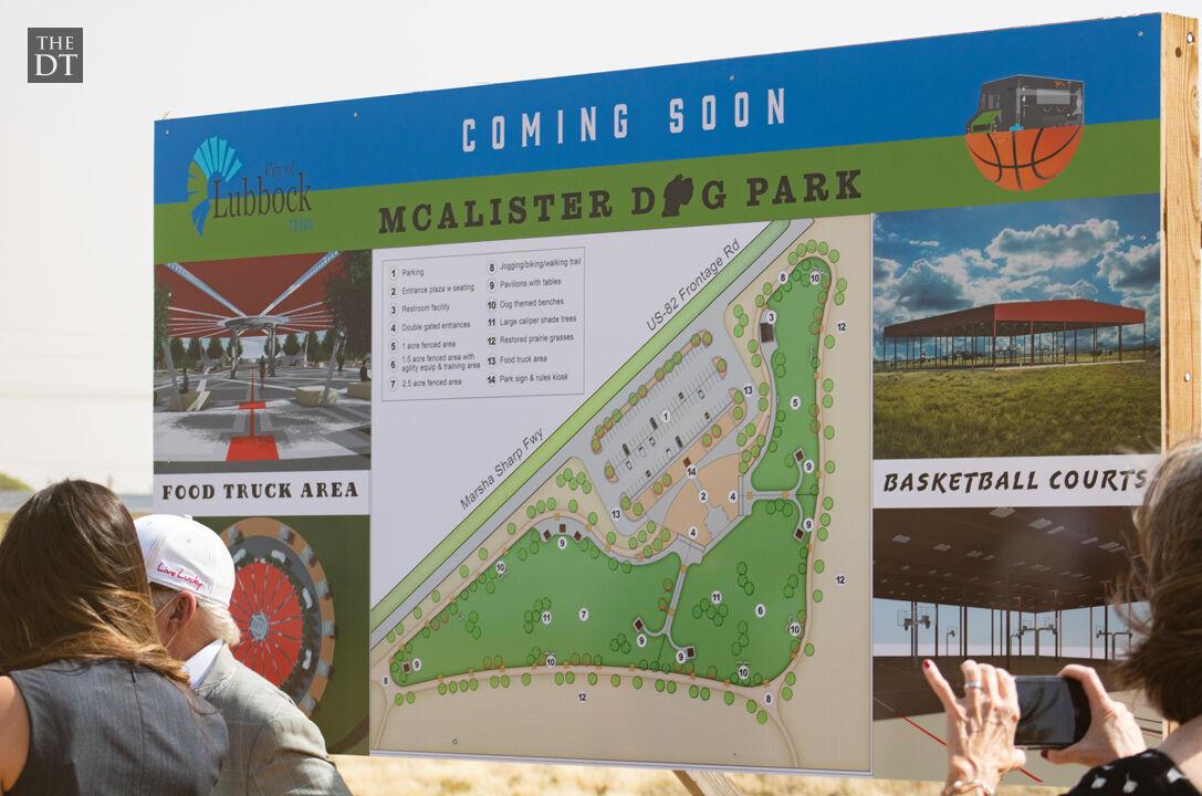 New Dog Park at McAlister Park