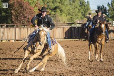 Tech Ranch Horse Team showcases horses, riders