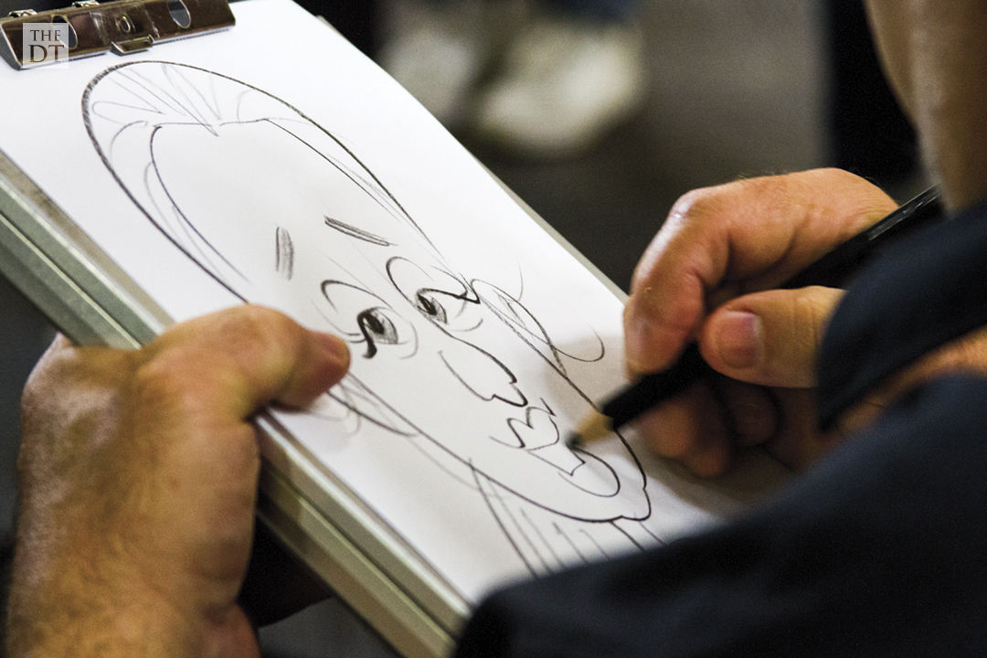 Caricatures Speed Drawings