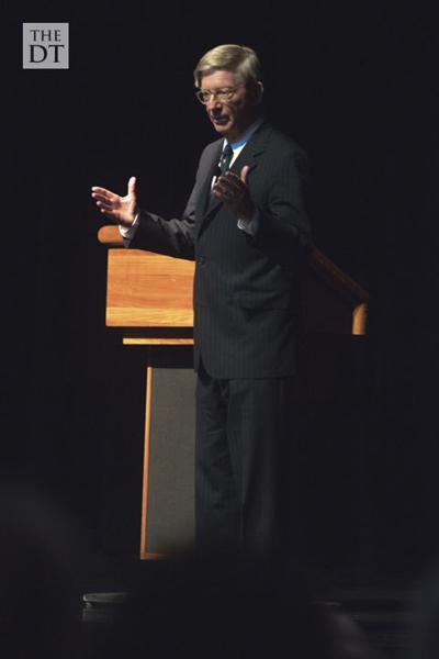 Pulitzer Prize winner takes stage as Free Market Institute keynote speaker