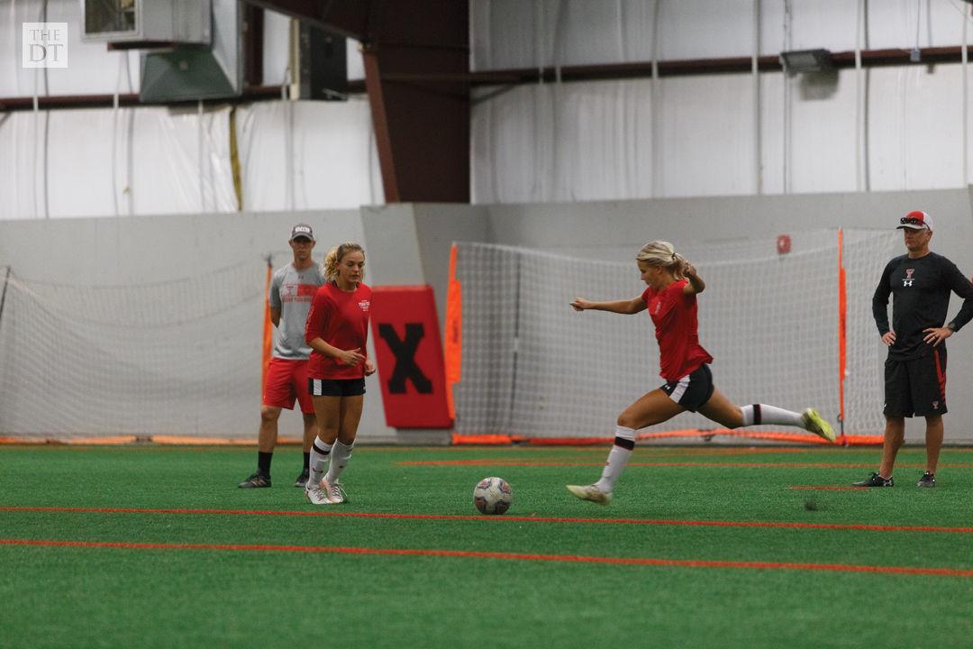 Texas Tech Soccer Practice