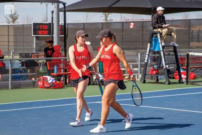 Texas Tech Womens Tennis vs. North Carolina State University.