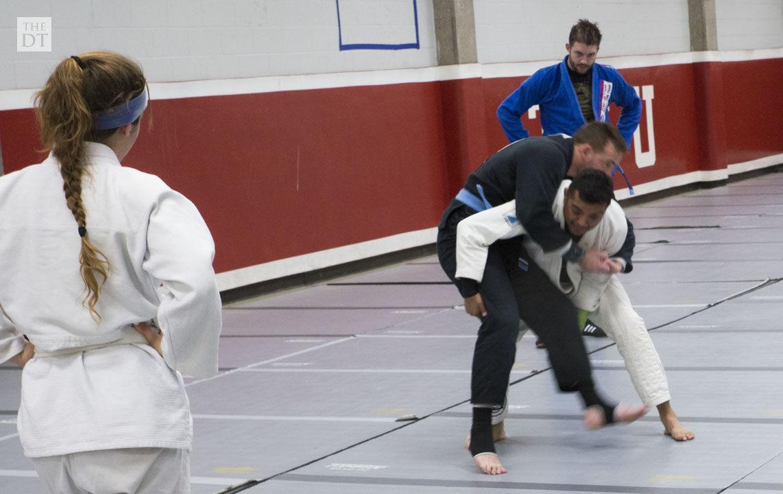 Tech Brazilian Jiu-Jitsu club embraces sport, self defense