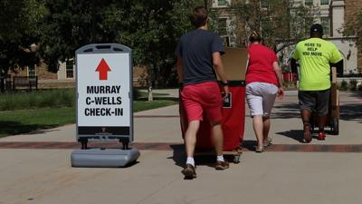 Tech welcomes freshman class of 2023 at move in weekend